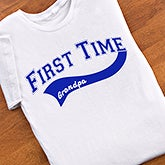 First Time Grandparent Personalized Clothing & Apparel - 5858