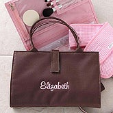 Personalized Makeup & Cosmetic Bag with Accessories - 5861