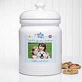 Custom Personalized Photo Cookie Jar - Treats for My Sweetheart - 5871