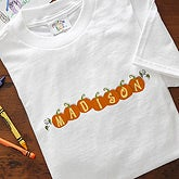 Pumpkin Crazy Personalized Halloween Clothes - 5915