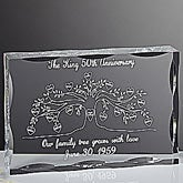 Personalized Family Tree Keepsake with up to 15 Names