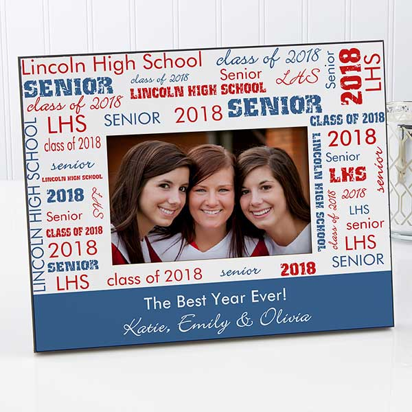 Personalized Picture Frames School Spirit