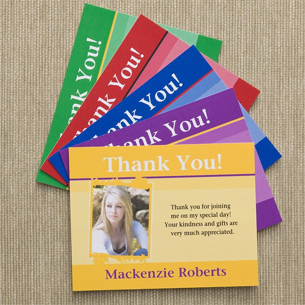 Graduation Announcement Custom Thank You Cards