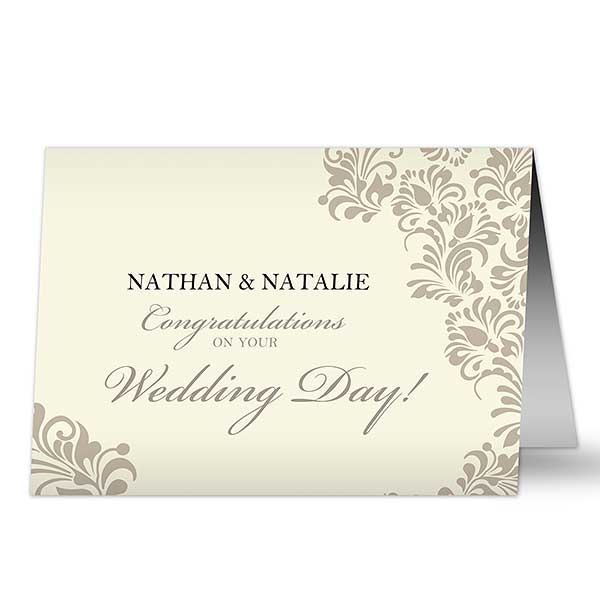 Wedding Greeting Cards.Your Wedding Personalized Greeting Card