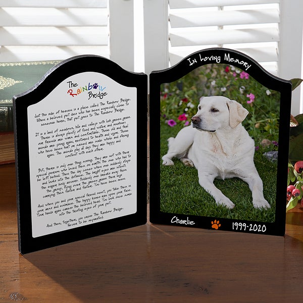 Christmas Gift Custom Engraved I Got Adopted Photo Prop Pet Milestone Pet Plaque