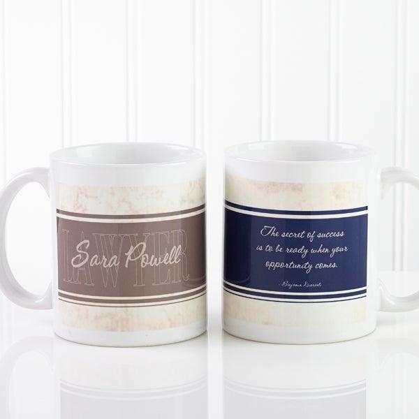 Personalized Lawyer Coffee Mugs - Inspiring Lawyer - 10411