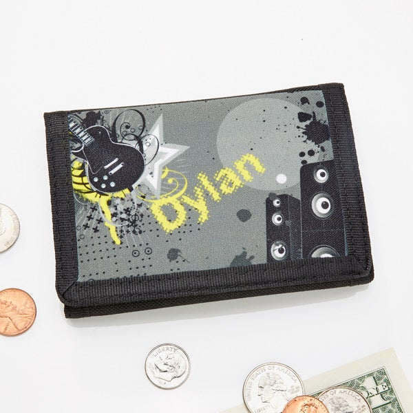 Personalized Guitar Wallet - 10748
