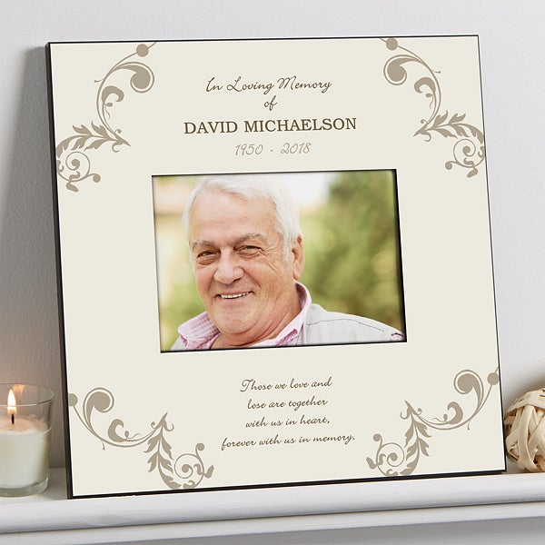Personalized 5x7 Memorial Picture Frame In Loving Memory