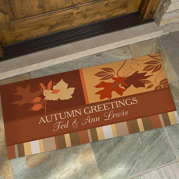 Personalized Doormats - Happy Autumn - 10815