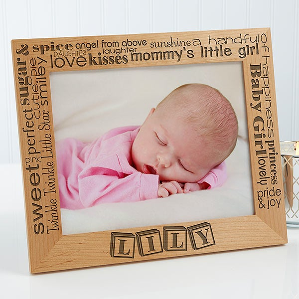 Personalized Baby Picture Frames - Pride & Joy - 10827