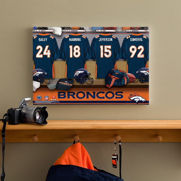 Denver Broncos Locker Room
