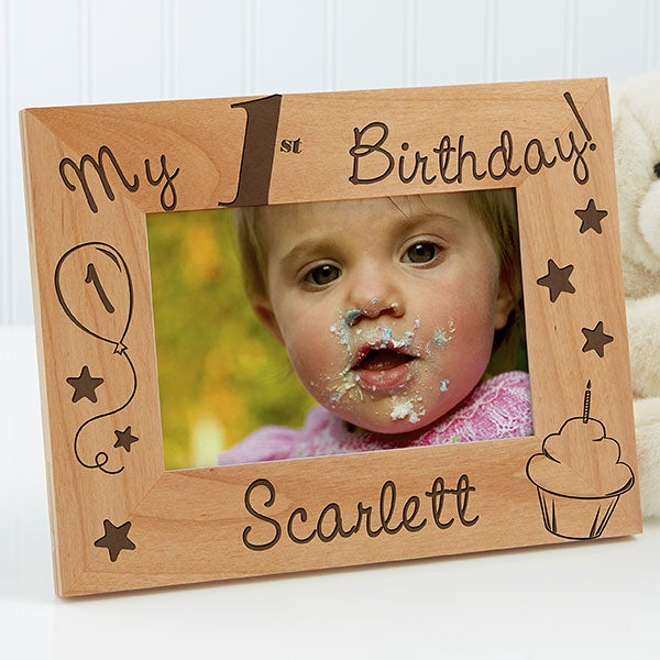 Personalized Kids Birthday Picture Frames - Look How Old I Am - 10852