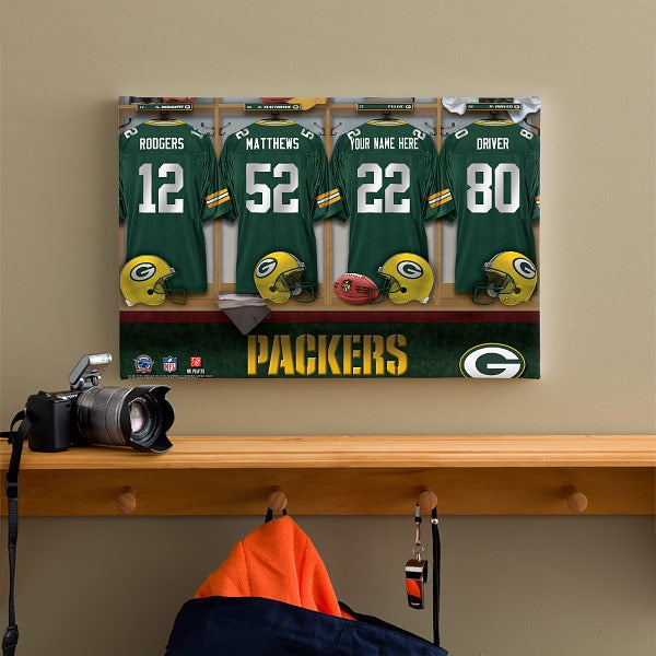 Locker Room Green Bay