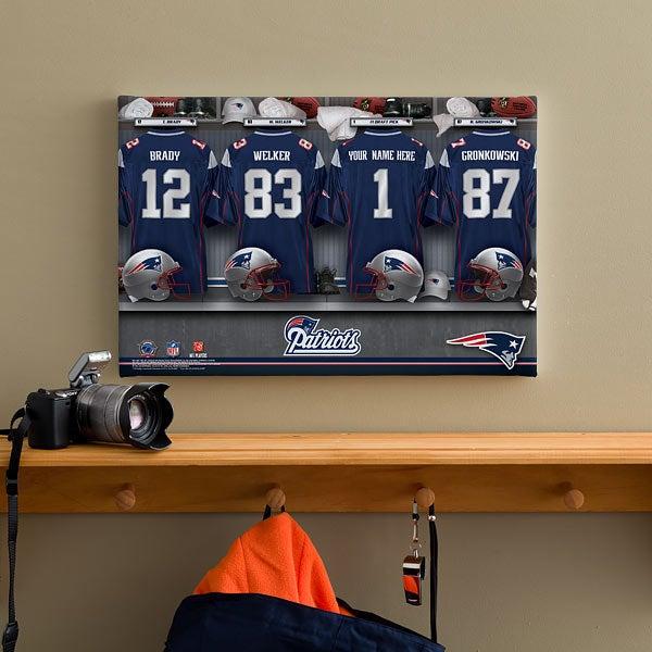 Patriots Locker Room Video