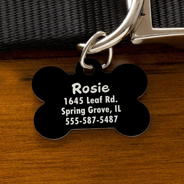 3ee623e23866 Engraved Pet ID Tags - You Name It - 11051