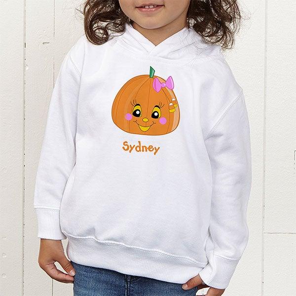 Personalized Halloween Pumpkin Shirts for Girls - 11097