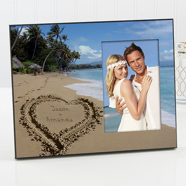Personalized Picture Frames - Tropical Beach - 11129