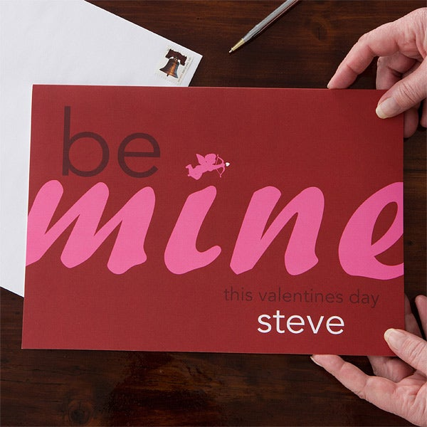 Personalized Valentine S Day Cards Oversized Valentine