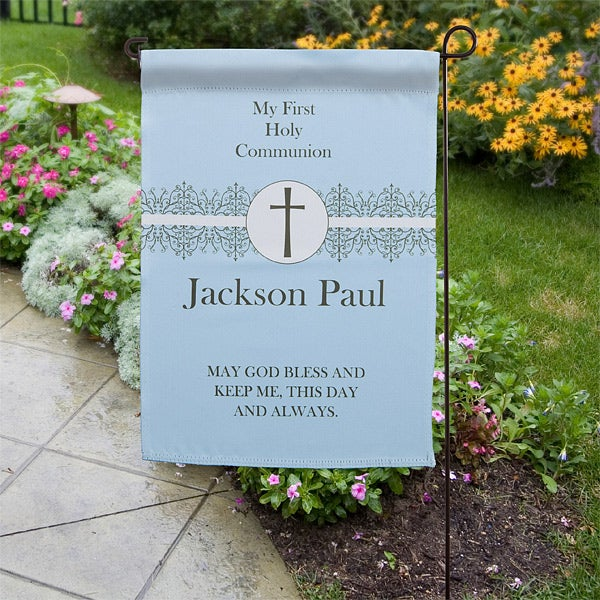 Personalized Garden Flags - First Communion - 11253