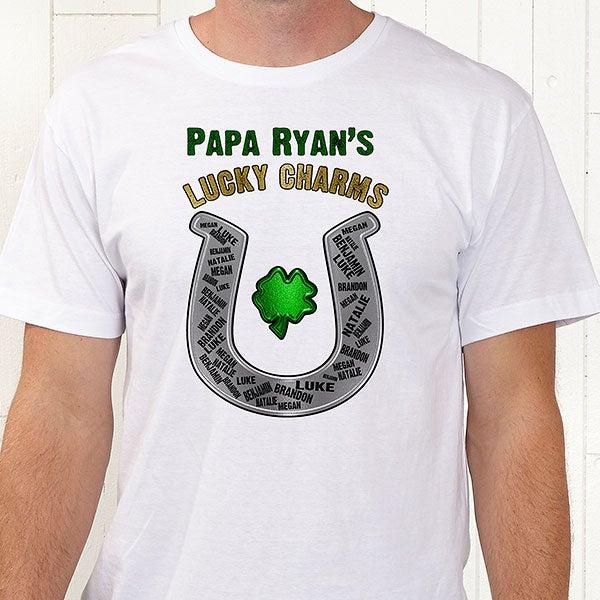 4274b253b839 ... tshirt shirt; personalized grandpa shirts lucky charms ...