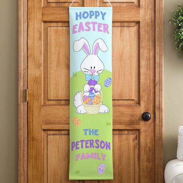 Personalized Door Banners - Happy Easter - 11384