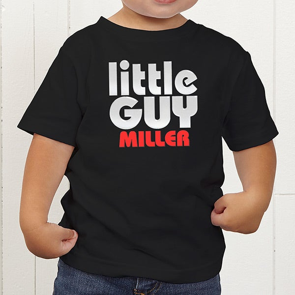 3514d8c1 Personalized Father & Son Clothing - Big Guy and Little Guy Collection -  11442
