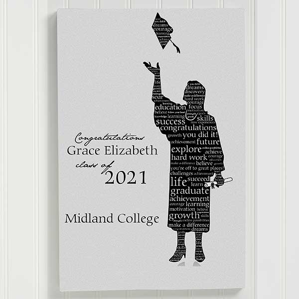 Graduation gift Journal; Graduation party Album High School Graduation Guest Book Memory Book Unique Personalized University College