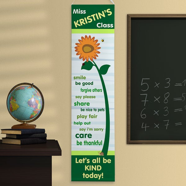 Personalized Classroom Banners - Teacher's Little Learners - 11470