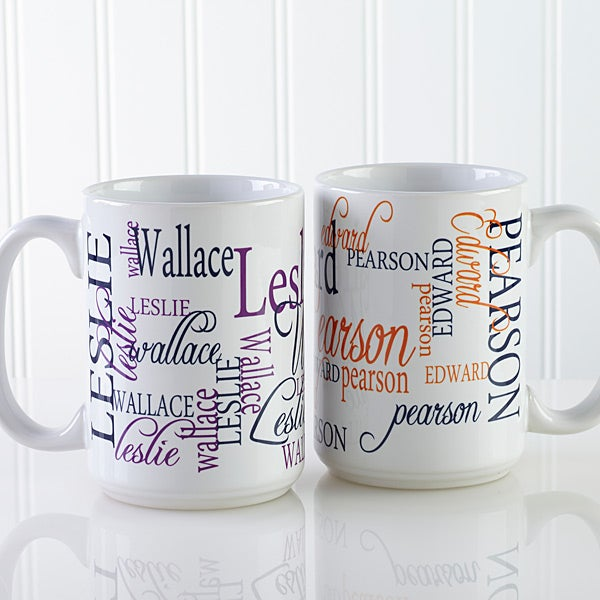 Personalized Coffee Mugs My Name 11539