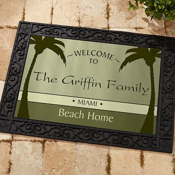 Personalized Retirement Doormat - We're Retired - 11558