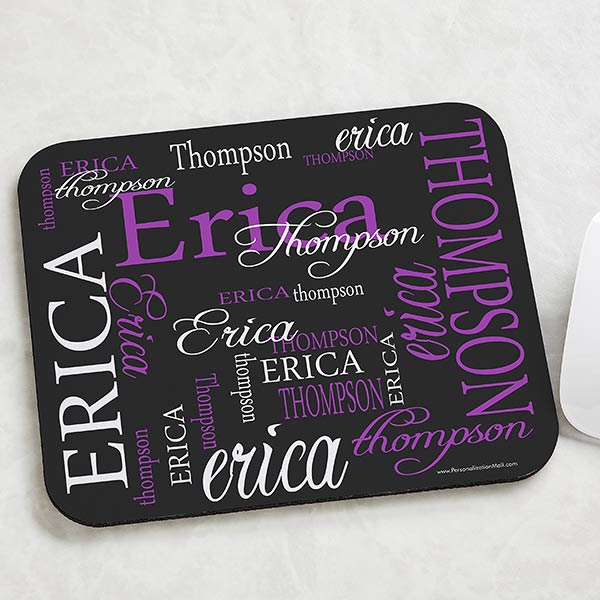 Personalized Mouse Pads - My Name - 11600