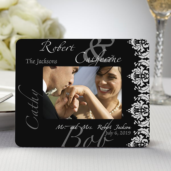 Personalized Wedding Favor Mini Picture Frames 11671