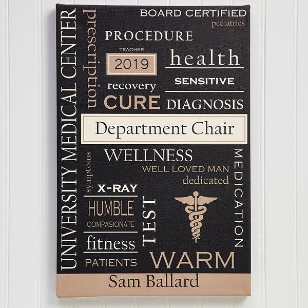 Personalized Doctor Art - Custom Word Art - 11701