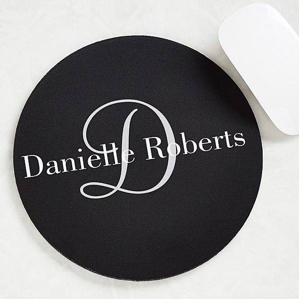 Personalized Mouse Pads - Classic Monogram - 11822