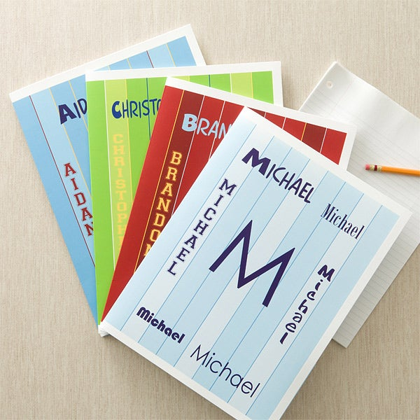 Personalized Folders for Boys - My Name - 11852