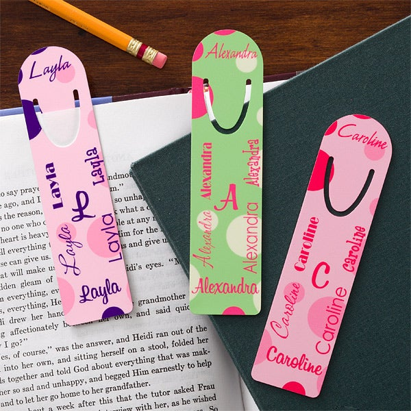 Personalized Bookmarks for Girls - My Name - 11853
