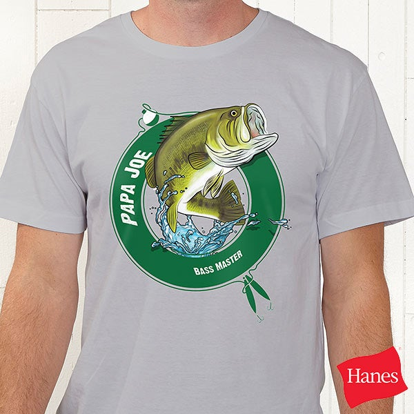 Personalized Fisherman T-Shirts & Apparel - 11989