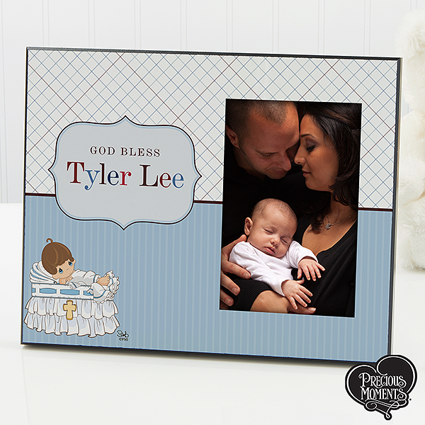 Personalized Christening Picture Frames - Precious Moments - 12066