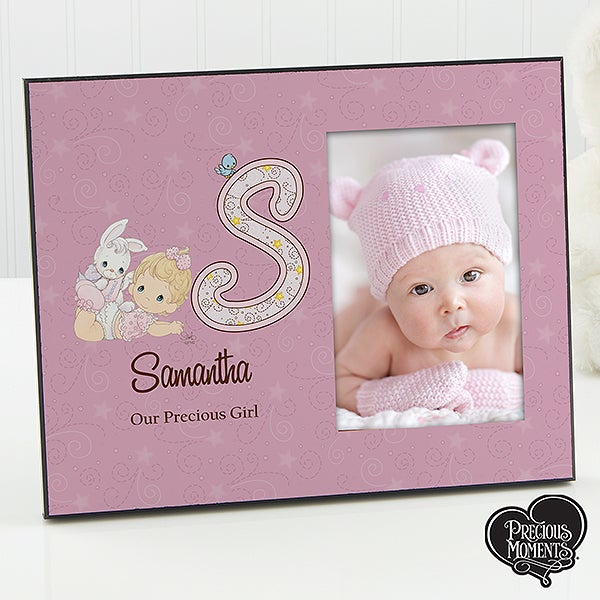 Precious Moments Personalized Baby Picture Frames - 12161