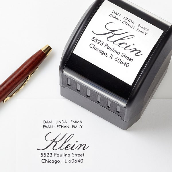 Personalized Self Inking Address Stamp