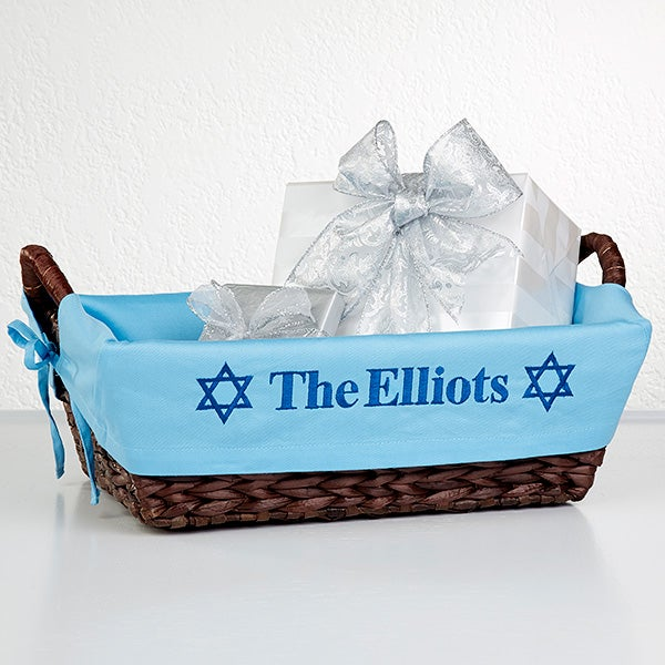 Personalized Hanukkah Gift Basket - 12251