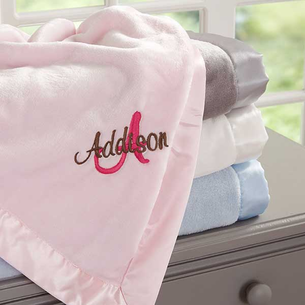 e97df5bd5a Personalized Baby Blankets for Girls - All About Me - 12290