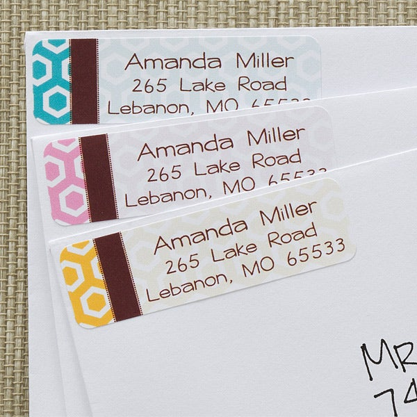 Personalized Return Address Labels for Ladies - Her Design - 12291