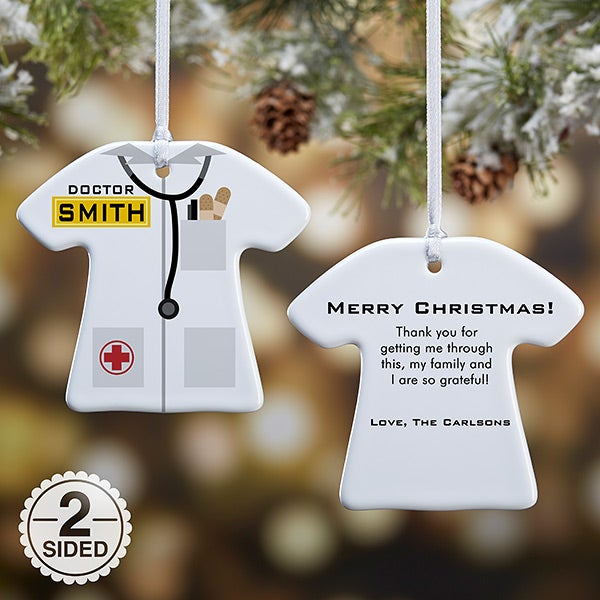Personalized Christmas Ornaments - Medical Doctor - 12377