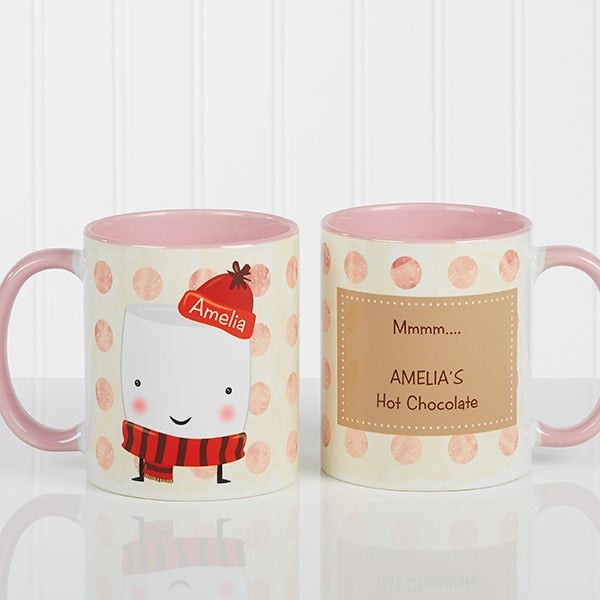 Personalized Mug & Hot Cocoa - Marshmallow - 12412