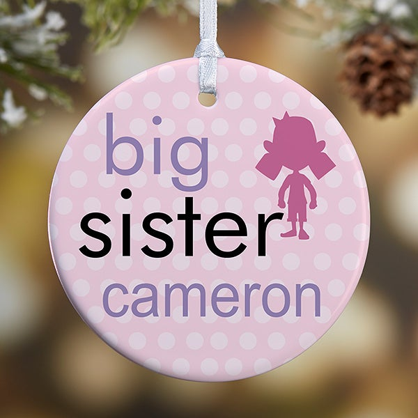 Personalized Christmas Ornaments - Brothers & Sisters - 12414 - Personalized Christmas Ornaments - Brothers & Sisters