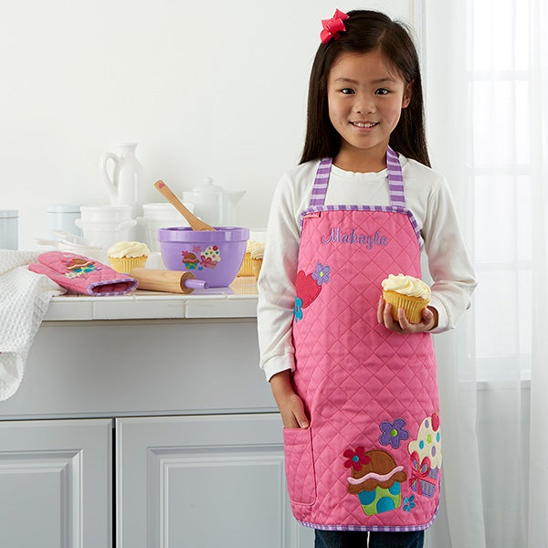 Personalized Kids Aprons - Cupcake - 12543