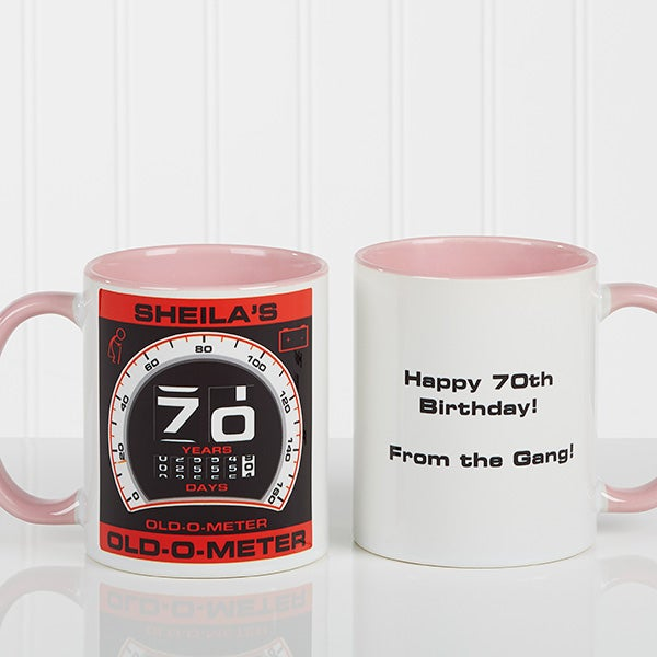 Personalized Birthday Coffee Mugs