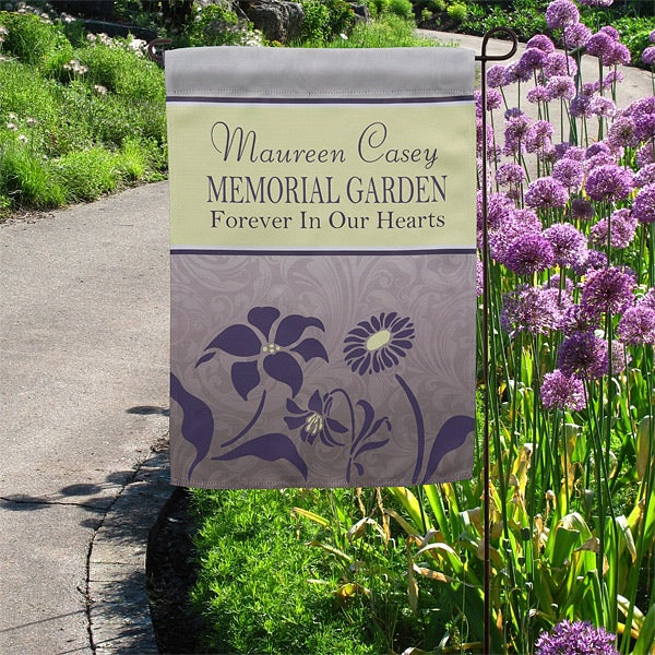 Memorial Garden Personalized Garden Flag