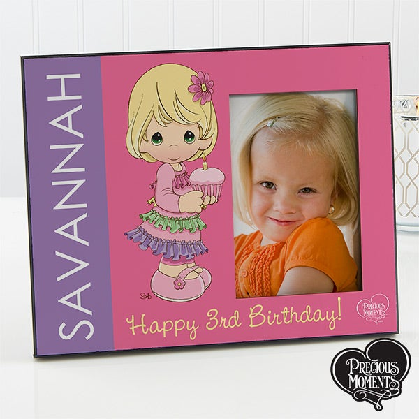 Personalized Birthday Picture Frame - Precious Moments - 12706